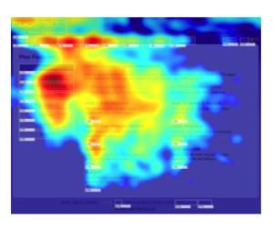 ランディングページヒートマップ