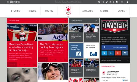 カナダオリンピック協会ページ