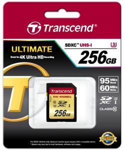 Transcend256SDカード