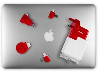海外旅行用mac用コンセント