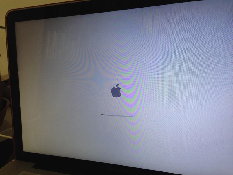 OSXユーティリティーを起動