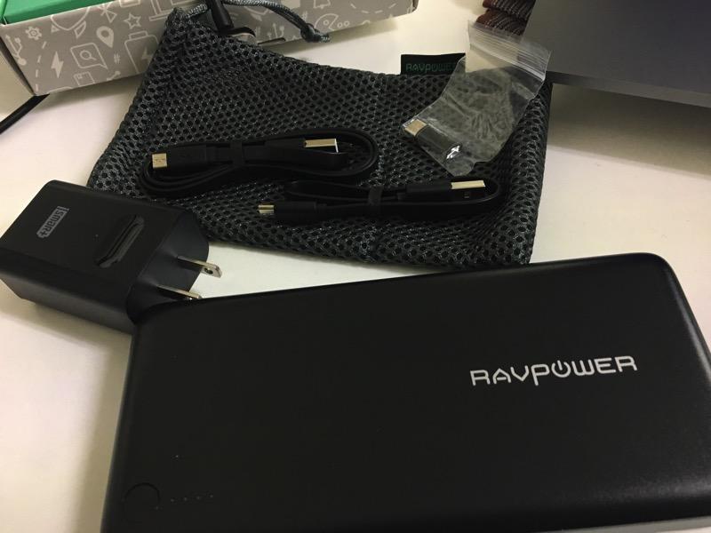 RAVPower26800mAh一式